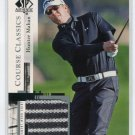 HUNTER MAHAN 2005 SP Authentic Course Classics #CC23 2-color SHIRT Relic