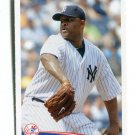 CC C.C. SABATHIA 2012 Topps MLB Sticker #24 New York NY Yankees