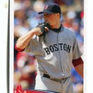 JON LESTER 2012 Topps MLB Sticker #13 Boston Red Sox