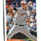 MADISON BUMGARNER 2012 Topps MLB Sticker #295 San Francisco Giants