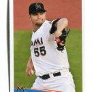 JOSH JOHNSON 2012 Topps MLB Sticker #167 Marlins