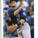 TROY TULOWITZKI 2012 Topps MLB Sticker #271 Rockies