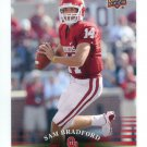 SAM BRADFORD 2011 UD College Football Legends #74 Oklahoma Sooners RAMS 2008 Heisman Winner QB