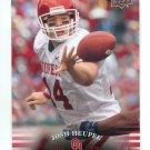 JOSH HEUPEL 2011 UD College Football Legends #57 Oklahoma Sooners QB