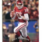 PAUL THOMPSON 2011 UD College Football Legends #70 Oklahoma Sooners QB