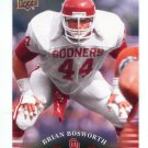 BRIAN BOSWORTH 2011 UD College Football Legends #44 Oklahoma Sooners SEAHAWKS