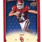 SAM BRADFORD 2011 UD College Football Legends All-Americans INSERT Oklahoma Sooners RAMS QB