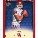 JOSH HEUPEL 2011 UD College Football Legends All-Americans INSERT Oklahoma Sooners QB