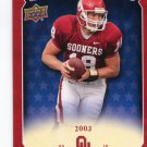 JASON WHITE 2011 UD College Football Legends All-Americans INSERT Oklahoma Sooners 2003 Heisman QB