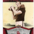 BOBBY WARMACK 2011 UD College Football Legends All-Time Alumni INSERT Oklahoma Sooners QB