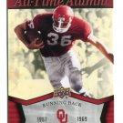 STEVE OWENS 2011 UD College Football Legends All-Time Alumni INSERT Oklahoma Sooners DETROIT LIONS