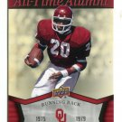 BILLY SIMS 2011 UD College Football Legends All-Time Alumni INSERT Oklahoma Sooners DETROIT LIONS