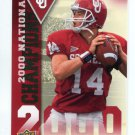 JOSH HEUPEL 2011 UD College Football Legends National Champions INSERT Oklahoma Sooners QB