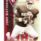 JAMELLE HOLIEWAY 2011 UD College Football Legends National Champions INSERT Oklahoma Sooners QB