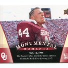 BRIAN BOSWORTH 2011 UD College Football Legends Monumental Moments #87 Oklahoma Sooners SEAHAWKS