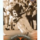 RANDY McEACHERN 2011 UD College Football Legends #33 Texas Longhorns QB