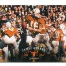 JAMES STREET 2011 UD College Football Legends #13  Texas Longhorns QB