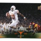 VINCE YOUNG 2011 UD College Football Legends #74 Texas Longhorns TITANS QB