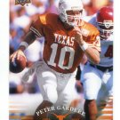 PETER GARDERE 2011 UD College Football Legends #54 Texas Longhorns QB