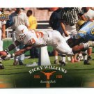 RICKY WILLIAMS 2011 UD College Football Legends #65 Texas Longhorns SAINTS Dolphins