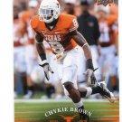 CHYKIE BROWN 2011 UD College Football Legends #78 Texas Longhorns RAVENS