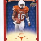 VINCE YOUNG 2011 UD College Football Legends All-Americans INSERT Texas Longhorns TITANS QB