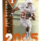 JAMAAL CHARLES 2011 UD College Football Legends National Champions INSERT Texas Longhorns CHIEFS
