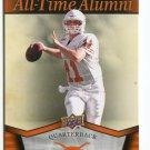 MAJOR APPLEWHITE 2011 UD College Football Legends All-Time Alumni INSERT Texas Longhorns QB