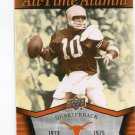 MARTY AKINS 2011 UD College Football Legends All-Time Alumni INSERT Texas Longhorns QB