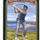 NICK FALDO 2012 Upper Deck UD Goodwin Champions #9 PGA Golf