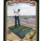 ANNIKA SORENSTAM 2012 Upper Deck UD Goodwin Champions #66 LPGA Golf