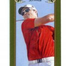 ZACH JOHNSON 2012 Upper Deck UD Goodwin Champions GREEN LUCKY LADY MINI SP #46 PGA Golf
