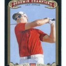 ZACH JOHNSON 2012 Upper Deck UD Goodwin Champions #46 PGA Golf