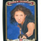 JEANETTE Black Widow LEE 2012 Upper Deck UD Goodwin Champions #37 Billiards Pool