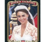 KATE MIDDLETON 2012 Upper Deck UD Goodwin Champions #20 Duchess of Cambridge