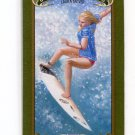LAURA ENEVER 2012 Upper Deck UD Goodwin Champions GREEN LADY LUCK MINI SP #59 Surfer