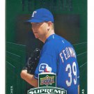 SCOTT FELDMAN 2010 Upper Deck UD Supreme GREEN EMERALD SP INSERT #S-48 Texas Rangers