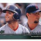 DUSTIN PEDROIA / JOSH BECKETT 2010 Upper Deck UD TC #574 Boston Red Sox