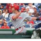 JASON WERTH 2010 Upper Deck UD #374 Philadelphia Phillies