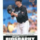 ROY HALLADAY 2010 Upper Deck UD Biography INSERT #SB-142 Philadelphia Phillies BLUE JAYS