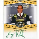 DOUG RANDOLPH 2013 Leaf Army All-American TOUR AUTO Notre Dame Irish 3-Star OLB #d/25
