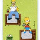 HOMER & BART SIMPSON 2000 Inkworks #62 Homer Sweet Homer