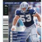 MARK STEPNOSKI 2001 NFL Showdown First 1st Edition #127 Dallas Cowboys