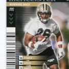 DEUCE McALLISTER 2001 NFL Showdown First & Goal #109 ROOKIE Saints