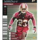 FRED SMOOT 2001 NFL Showdown First & Goal #118 ROOKIE Redskins