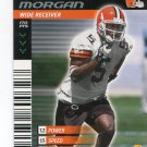 QUINCY MORGAN 2001 NFL Showdown First & Goal #124 ROOKIE Browns KANSAS STATE Wildcats