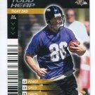 TODD HEAP 2001 NFL Showdown First & Goal #96 ROOKIE Ravens ARIZONA STATE Sundevils