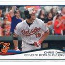 CHRIS DAVIS 2014 Topps #47 Orioles