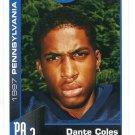 DANTE COLES 1997 Big 33 Pennsylvania High School card