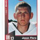 JASON FLORA 1997 Big 33 Ohio High School card